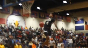 High School Hoops Star Goes Dunk Wild In Championship Game!