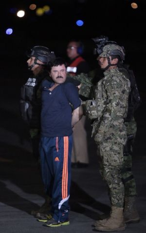 El Chapo Under Arrest
