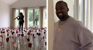 Kim Kardashian Serenaded By Kenny G, Valentine's Day Gift From Kanye West