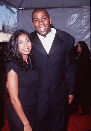 Magic and Cookie Johnson Together