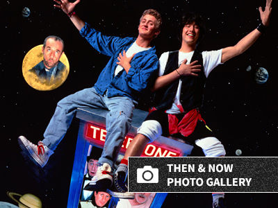 'Bill & Ted's Excellent Adventure' Turns 30: What Do They Look Like NOW and Who's No Longer…