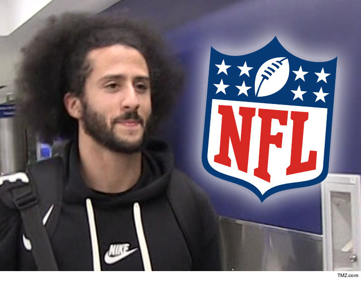 1226ca6a1ce Colin Kaepernick and Eric Reid say their legal war with the NFL is over --  after striking a confidential settlement with the league.