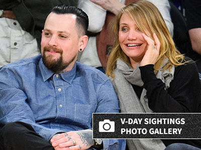 Benji Madden Shares RARE Cameron Diaz Photo of Valentine's Day -- See Her Now & Sweet Tribute!