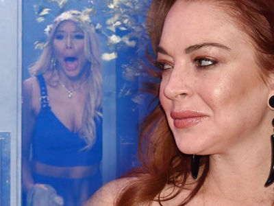 Lohan Claims She Was HACKED After Tamar Braxton, 'Big Brother' Comments