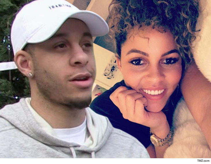 c2b8deced1b Two powerful NBA families are set to be linked by marriage -- with Steph  Curry s brother