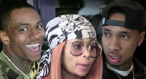 Soulja Boy and Blac Chyna Started Dating to Piss Off Tyga
