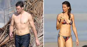Tom Brady & Gisele Flaunt Sexy Bods In Costa Rica Beach Session