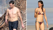 Tom Brady and Gisele Bundchen's Beachin' Bods In Costa Rica