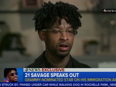 21 Savage Says I Saw Guns and Blue Lights, and Then I Was Arrested by ICE