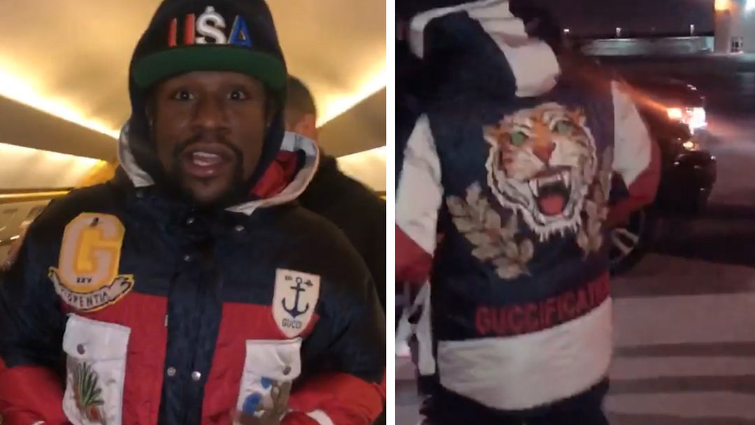 26a938d7d51 Floyd Mayweather Doubles Down on Gucci Despite Celebrity Attacks ...