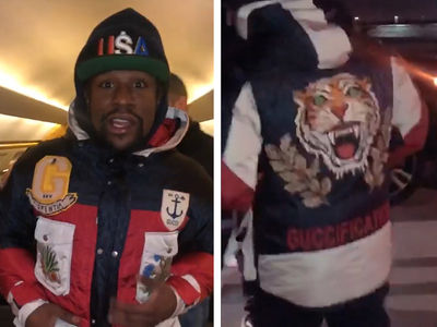 Floyd Mayweather Doubles Down on Gucci Despite Celebrity Attacks