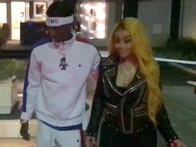 Soulja Boy and Blac Chyna Go On Valentine's Day Shopping Spree