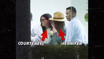 Jennifer Aniston, Courtney Cox Arrive in Cabo After Emergency Landing