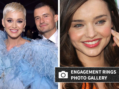 Katy's Engagement Ring Looks JUST Like the One Orlando Gave Miranda Kerr