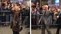 Hillary, Bill and Chelsea Get Mad Cheers on Broadway