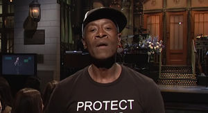 Don Cheadle Supports Trans Kids with T-shirt on 'SNL'