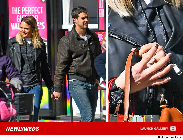 Miranda Lambert Bands Together with New Hubby ... For Leather Weather in NYC