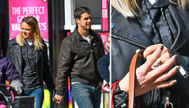 Miranda Lambert & New Hubby Flash Wedding Bands in NYC