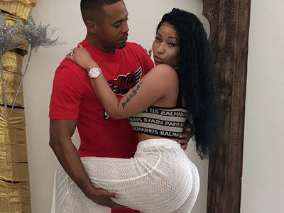 Nicki Minaj Teases PREGNANCY Talks in RACY Instagram Video with Boyfriend Kenneth Petty
