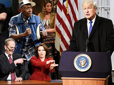 Don Cheadle and 'SNL' Hand Donald Trump a BEATING Over His National Wall Emergency