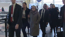Ruth Bader Ginsburg Talks About Her Post-Surgery Condition at Reagan Airport