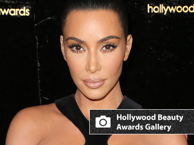 Kim Risks SERIOUS WARDROBE MALFUNCTION at the Hollywood Beauty Awards!