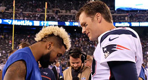 Twitter Goes Crazy Over Odell Beckham Jr.'s Comment On Tom Brady's Instagram