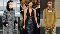 Celeb Runway Walks At Chanel Fashion Shows