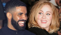 Drake and Adele Spend Fun Night Together, BFF Style