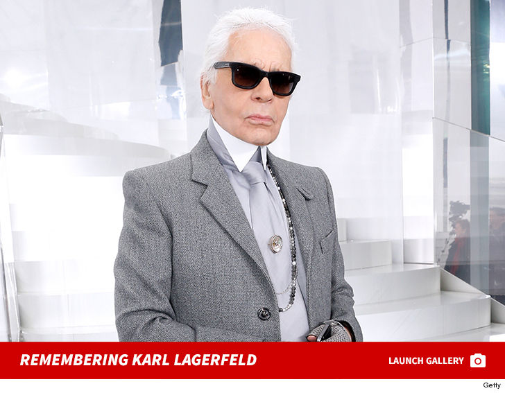 c07b11ebb923 The fashion world is mourning after legendary designer Karl Lagerfeld s  death Tuesday in Paris.