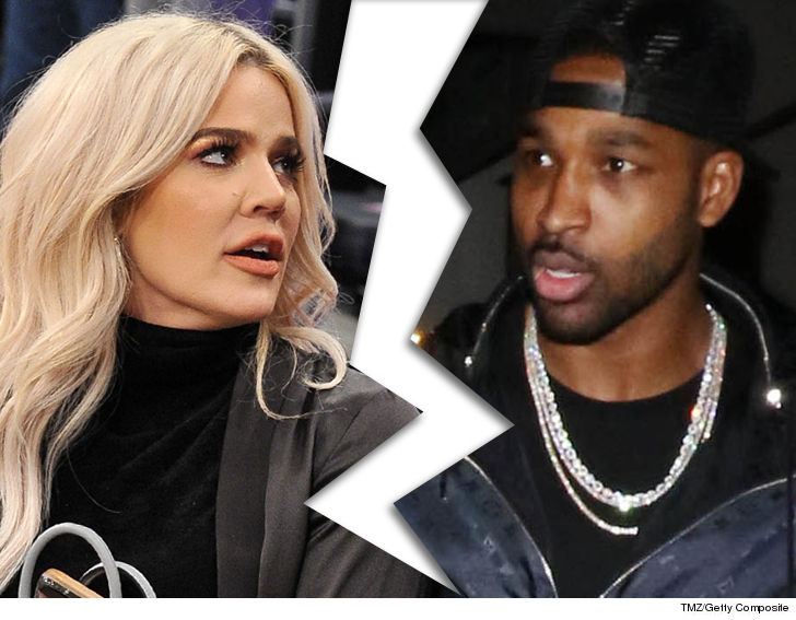 Khloe Kardashian Splits With Tristan ... After He Allegedly Cheats With Kylie's BFF