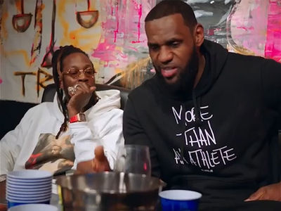 LeBron James Teams Up With 2 Chainz For New Rap Project