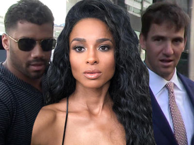 Ciara Could Force Russell Wilson To Replace Eli In NY, Says Colin Cowherd