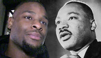 Le'Veon Bell Channels Martin Luther King to Celebrate Leaving Steelers