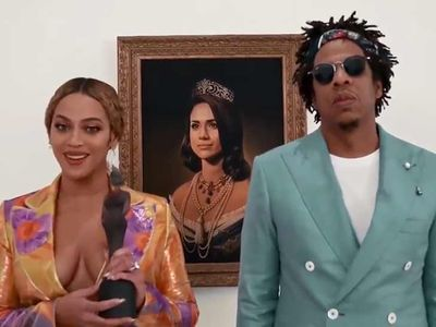 Beyonce and Jay-Z Didn't Pay for Meghan Markle Painting, But It's Okay