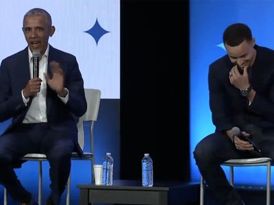 Barack Obama Takes Credit For Steph Curry's Lethal Jump Shot