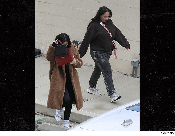 08a9f68d87 Kylie made her own public statement Thursday by stepping out in Calabasas  with her other (or maybe NEW) best friend.