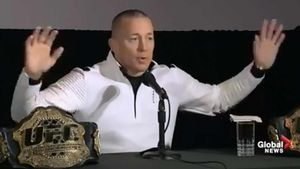 Georges St-Pierre Retires, 'You Should Retire On Top'