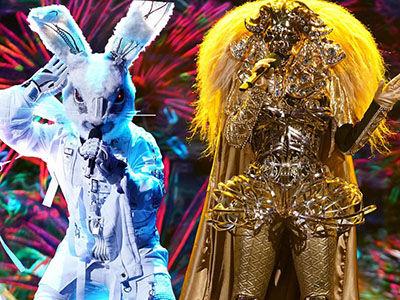 'Masked Singer' Double Elimination SHOCKER Unmasks Fan-Favorite RABBIT and LION