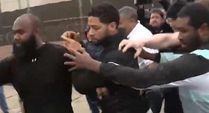 Jussie Smollett Released from Custody After Arrest into a Swarm of Media