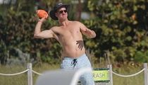 Peyton Manning Goes Topless, Hairless In Miami Beach Football Session