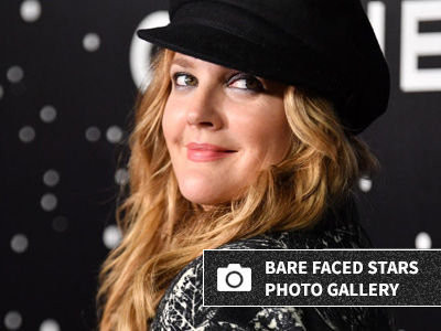 Drew Barrymore Celebrates 44th Birthday with NO MAKEUP Selfie -- And Just WOW!