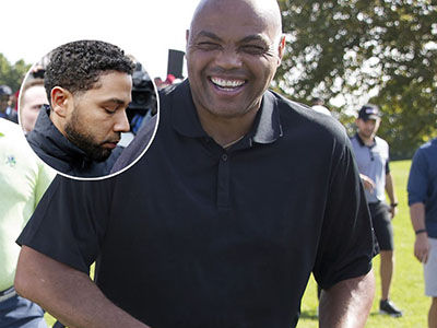 Charles Barkley's Absolutely SAVAGE ROAST of Jussie Smollett During TNT Halftime Show