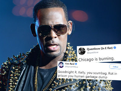 See Every Celebrity Reacting to R. KELLY's 10 Charges of Sexual Abuse