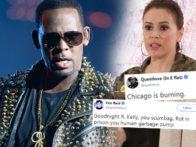 How Alyssa Milano & Every Other Celebrity is REACTING to R. Kelly's 10 Charges of Sexual Abuse