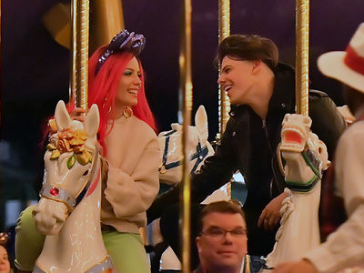 Halsey and Yungblud Have Date Night at Disneyland