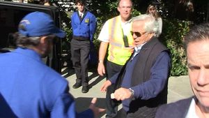 Robert Kraft Seen Leaving Hollywood Party Amid Prostitution Scandal