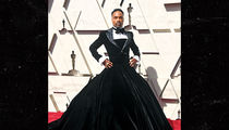 Billy Porter Rocks a Tuxedo-Gown During Oscars' Red Carpet