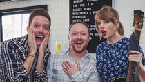 Taylor Swift Surprises Couple and Sings At Engagement Party