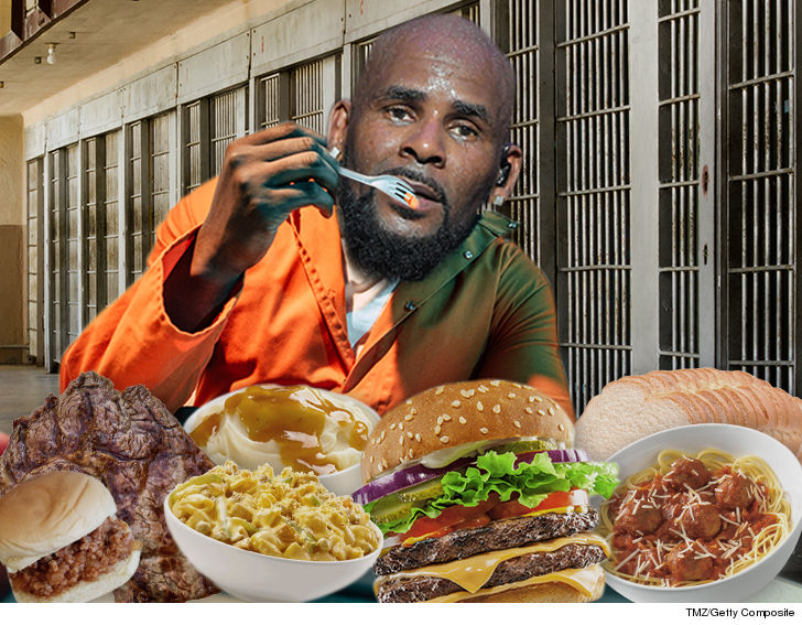 R. Kelly Got the Full Buffet During Weekend Lockup